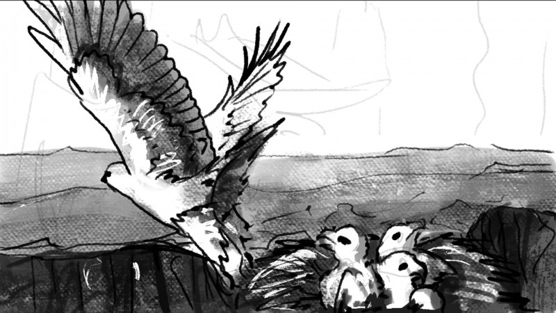 Storyboard The Cliff