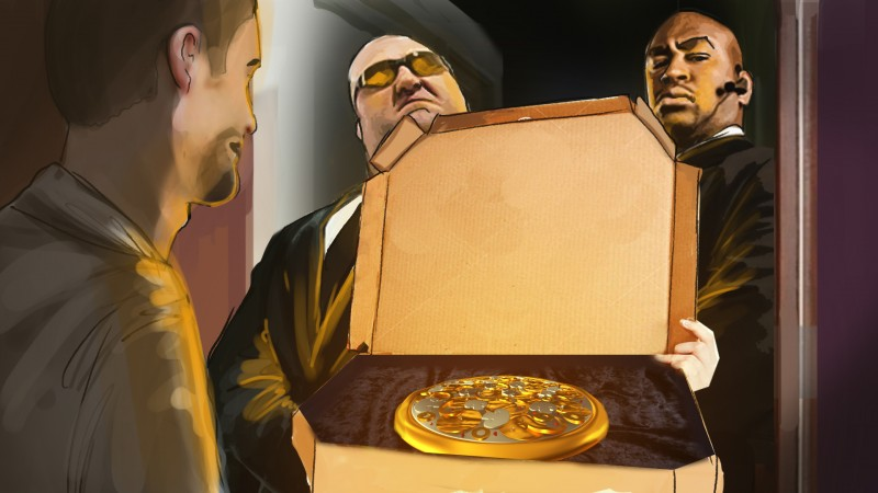 Storyboard Golden Pizza